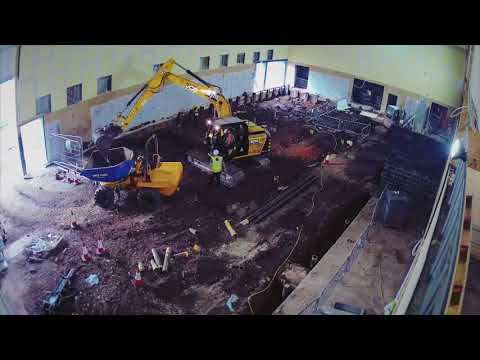 Monmouth Leisure Centre – Construction Of A Swimming Pool Within An Existing Sports Hall