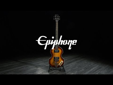 Epiphone Viola Bass, Vintage Sunburst   Gear4music demo