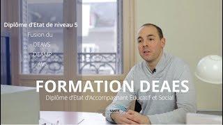 Formation DEAES (Diplôme d'Etat d'Accompagnant Educatif et Social)