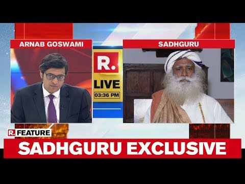 Sadhguru Speaks To Arnab Goswami For Republic TV's Awareness Campaign As India Observes Janta Curfew