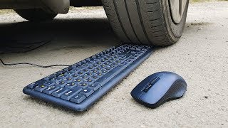 EXPERIMENT: CAR VS KEYBOARD