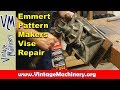 Emmert Pattern Makers Vise Repair:  Turning a New Pin on a Lathe