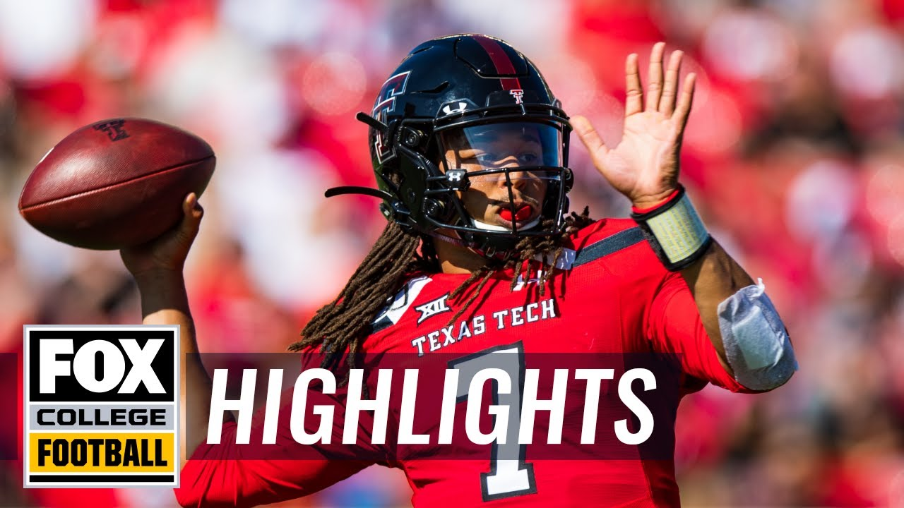 Texas Tech records 600 yds of offense in upset over Oklahoma St. | FOX COLLEGE FOOTBALL HIGHLIGHTS