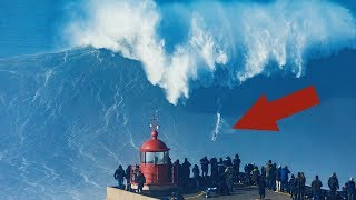 TOP 10 LARGEST WAVES IN THE WORLD CAUGHT ON VIDEO