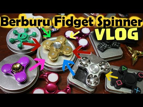 VLOG Hunting Borong Fidget Spinner Indonesia  TheRempongs