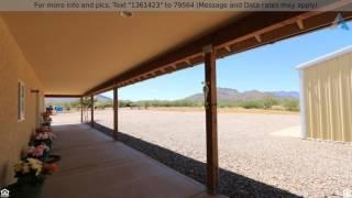 Priced at $325,000 - 887 W Mule Lane, Huachuca City, AZ 85616