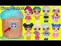 L.O.L. Surprise! Dolls Wrong Clothes Rescue Woodzeez House Glitter Lil Sisters Transform Unboxed!