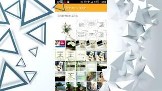 Cara Membuat Postingan Instagram Nyambung GRID dari Android