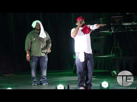 Raekwon & Ghostface Killah Live @ Puerto Rico Benefit Concert