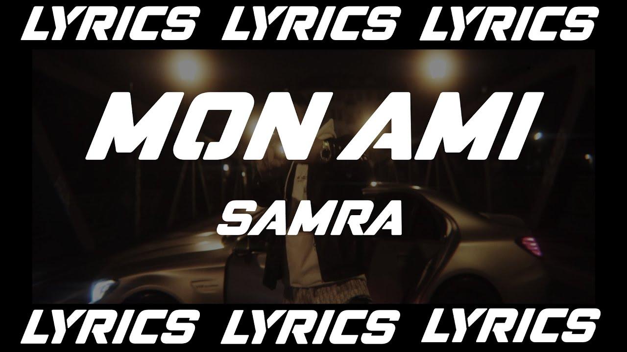 MON AMI - SAMRA (LYRICS)