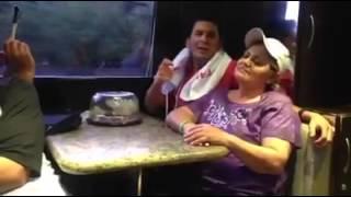 """Luis Angel Franco """"El Flaco"""" cantando POR SER POBRE"""