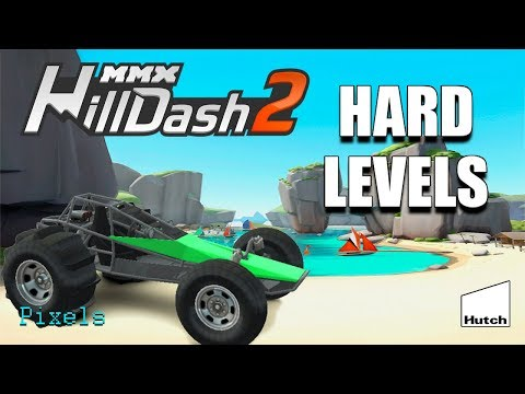 MMX Hill Dash 2 - Level 21 To 30 All Levels 3 Stars