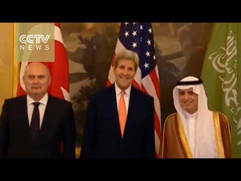 Kerry meets with King Salman in Saudi Arabia