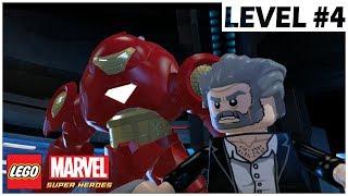 LOGAN - LEGO Marvel Super Heroes - Walkthrough with MODs - Level 4
