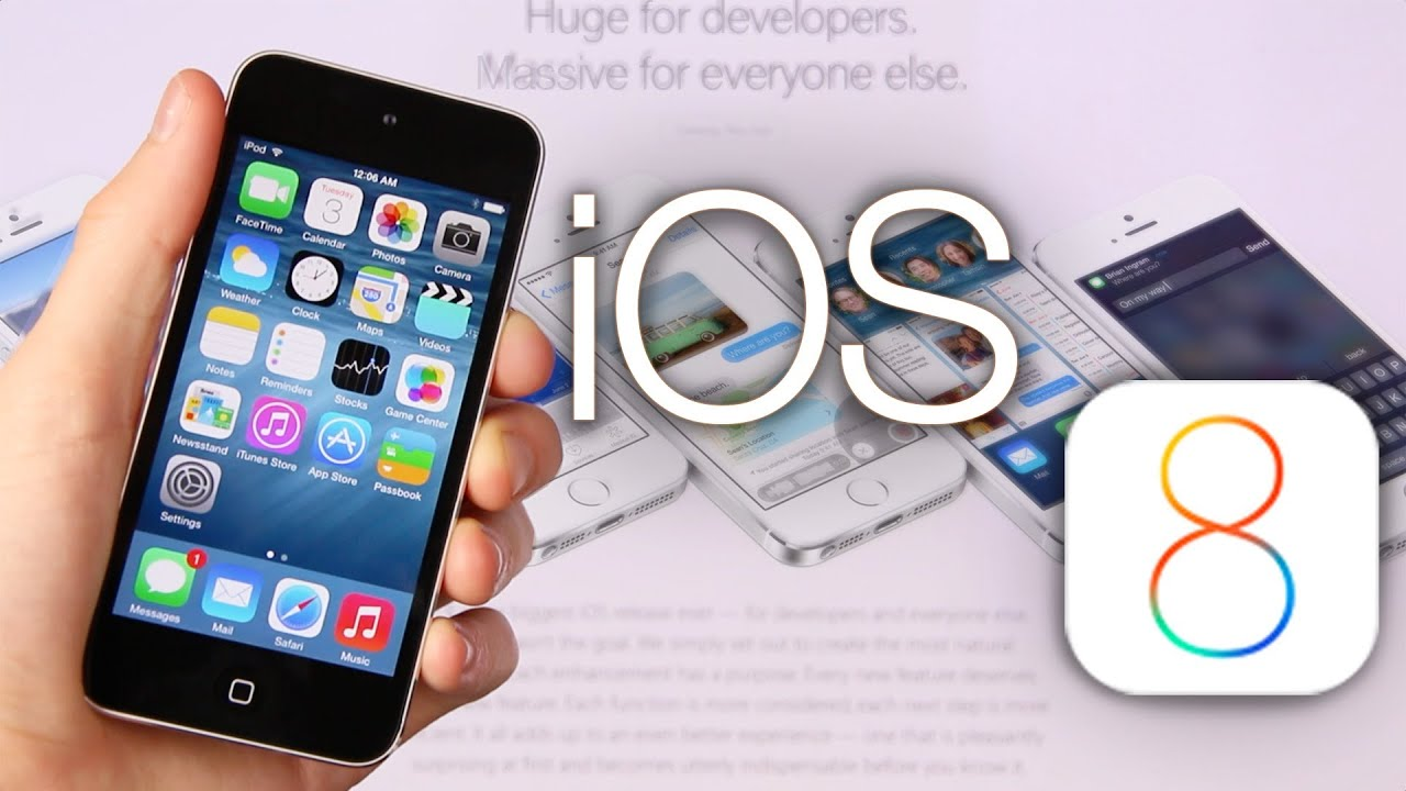 iOS 8 Beta 1 Features: In-depth Demo & Review iOS 8.0 APIs