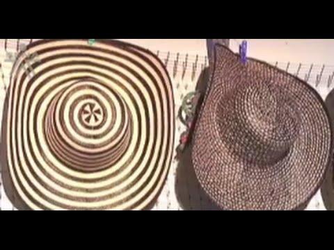 6051ab3eef596 Cómo se Fabrica el Sombrero Vueltiao- TvAgro por Juan Gonzalo Angel -  YouTube