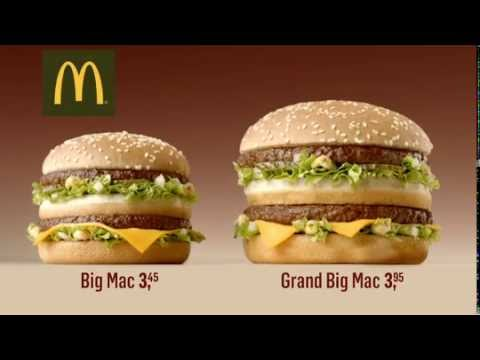 Grand Big Mac Oude Campagnes Mcdonald S Youtube
