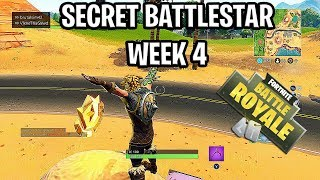 "SEASON 5 WEEK 4 SECRET BATTLE STAR LOCATION ""LOCATION"" ROAD TRIP CHALLENGES - FORTNITE BATTLE ROYAL"