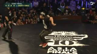 Shorty Force vs Vero - Semi Final - Red Bull BC One 2013 Asia Pacific Qualifier