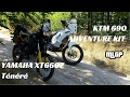 KTM 690 Enduro Adventure Kit & Yamaha XT660z Fire Roads Test Ride