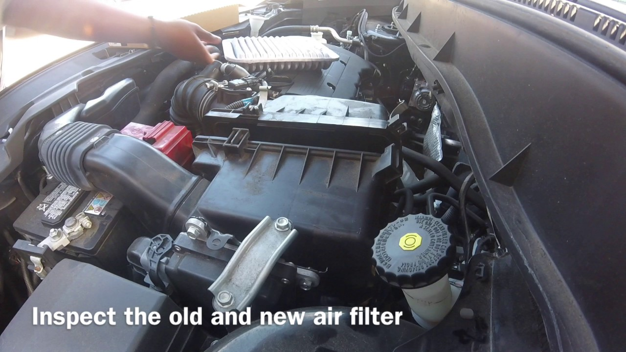 How To Replace Air Filter In Mitsubishi Outlander Sport 2014 Youtube 2011 Engine Diagram