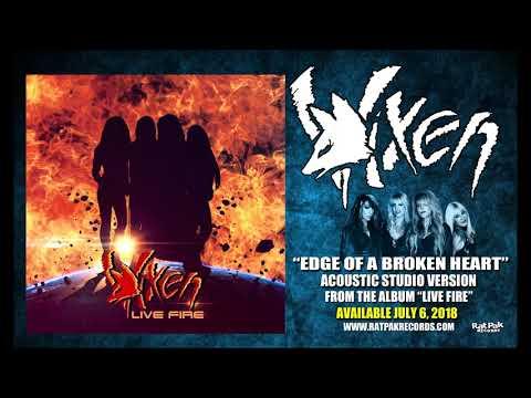 "VIXEN | ""Edge Of A Broken Heart"" | 2018 Acoustic / Studio Version"