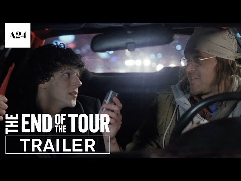 Download Youtube: The End Of The Tour | Official Trailer HD | A24