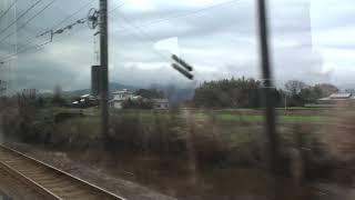 JR日豊本線  車窓  柳ヶ浦駅~宇佐駅(883系0番台ソニック特急)