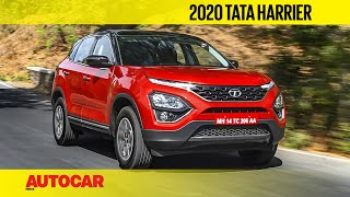 2020 Tata Harrier Automatic & Manual | First Drive Review | Autocar India