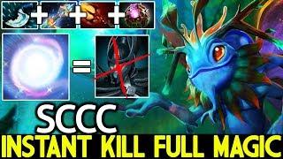 SCCC [Puck] Instant Kill Full Magic Damage Counter PA 7.21 Dota 2