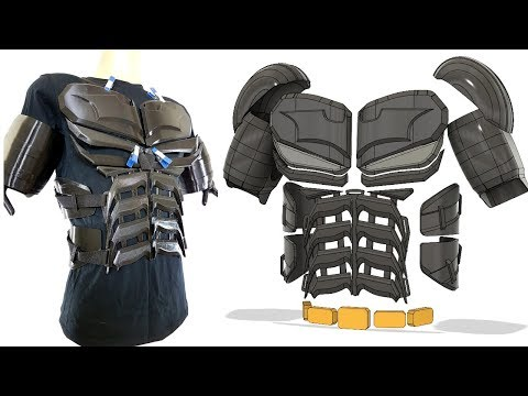 Batman Cosplay Suit #1 with Ninjaflex | James Bruton