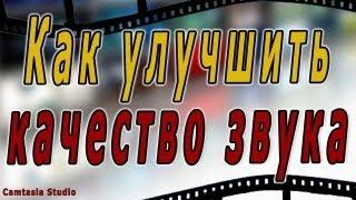 #8. Качество звука. Как улучшить звук на Camtasia Studio 7(Полный Бесплатный курс по Камтазии http://lyudmilamelnik.ru/m/videoprofi/ Все самое интересное по интернет-бизнесу здесь:..., 2013-05-29T04:46:41.000Z)