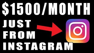 Make Money On Instagram Without Followers Or Posting Pictures!