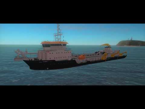 IHC training simulator trailing suction hopper dredgers (TSH