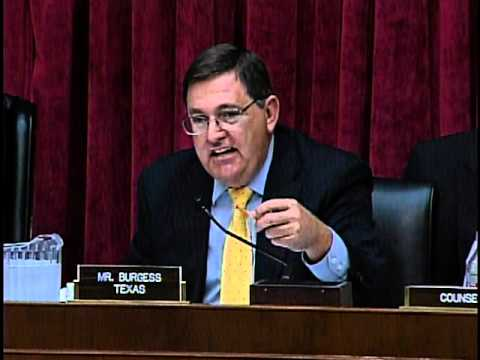 Ranking Member Burgess Questions Joshua Sharfstein of the FDA at O&I Hearing