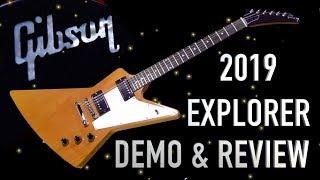 2019 Gibson Explorer Demo & Review