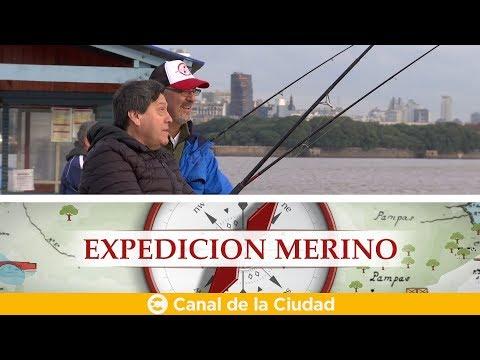 """<h3 class=""""list-group-item-title"""">Pesca de pejerrey en la Asociacion Argentina de Pesca con grandes historias en Expedición Merino</h3>"""