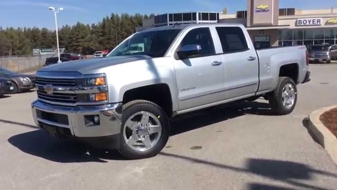 2015 Chevrolet Silverado 2500HD 4WD Crew Cab LTZ Plus Package | Boyer Chevrolet Lindsay | 15000 ...