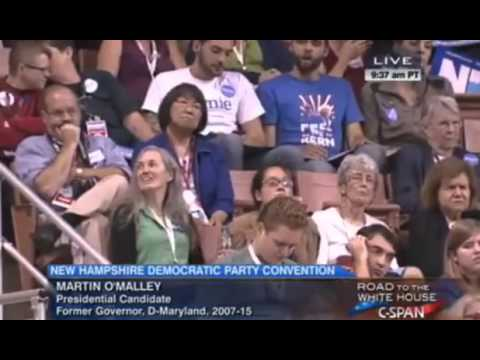 FULL Speech: Martin O'Malley speaks at New Hampshire Democratic Party Convention 09/19/15