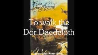 Nargothrond - To walk the Dor Daedeloth