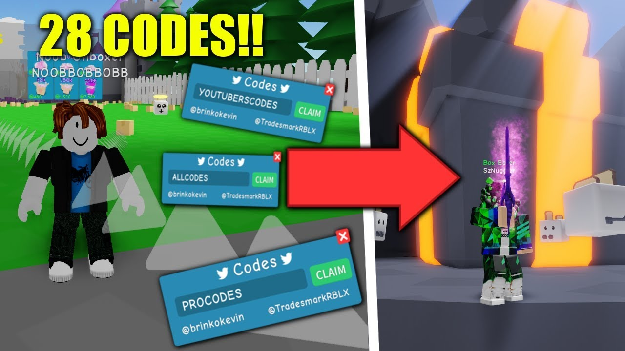 Codes For Unboxing Simulator Roblox | StrucidCodes.com