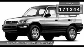 1998 TOYOTA RAV4 Dodge City, KS 15568A