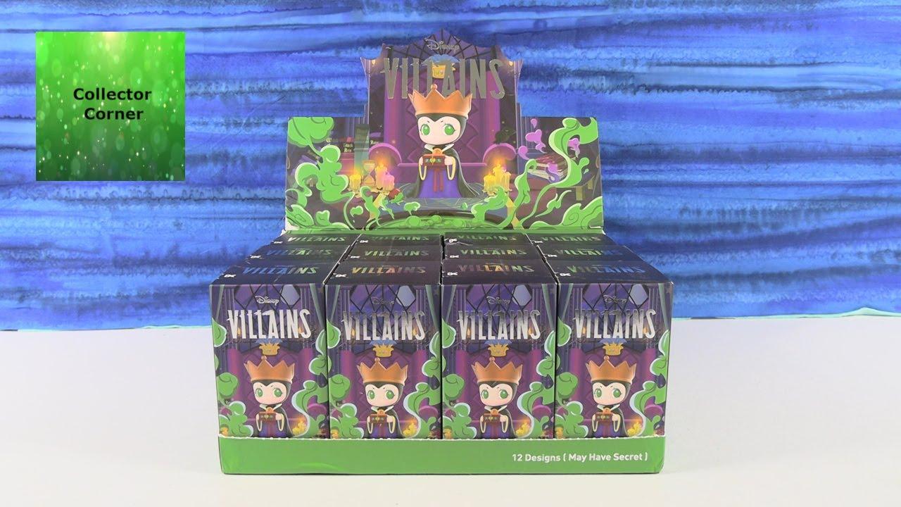 Disney Villains Pop Mart Blind Box Figure Opening Review | CollectorCorner