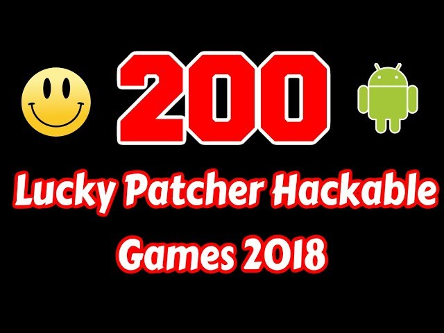 lucky patcher hackable games
