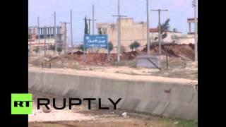 بالفيديو .. قوات الحماية الكردية تسيطر على مطار منغ العسكري في حلب