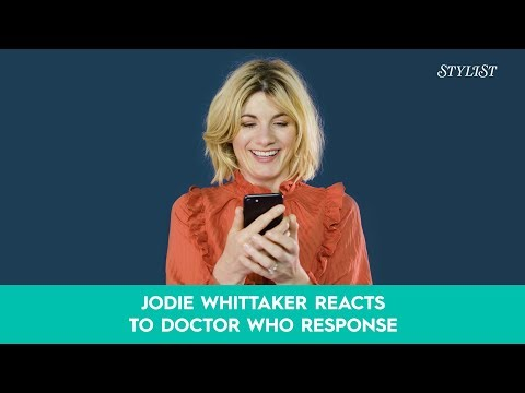 Jodie Whittaker Reacts To Doctor Who Response