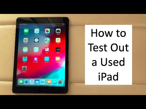 How To Test Out A Used Ipad Before You Buy