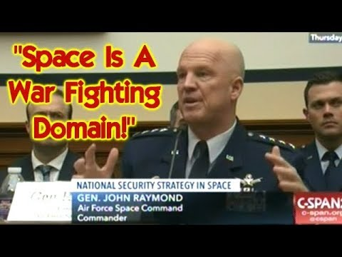 """Space Is A WAR Fighting Domain!"" Budget Hearing On U.S ..."