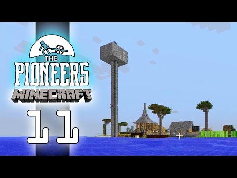 Moddat Minecraft #11 - Kollar in staden!
