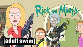 Rick and Morty | Unhappy Mother's Day | Adult Swim UK  🇬🇧